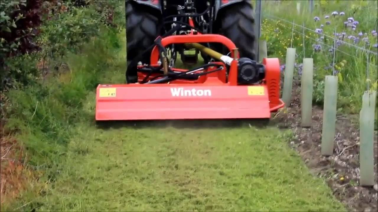 Heavy Duty Hydraulic Offset Verge Flail Mower WN