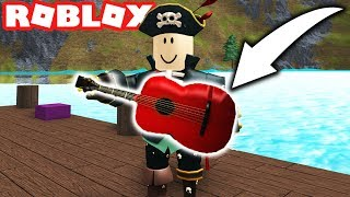 trouver la guitare mythique en plongée sous-marine ROBLOX QUILL Lake (épisode #9)