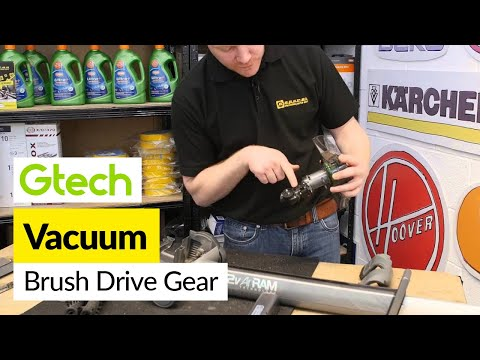 Gtech AirRam Brush Drive Gear Assembly Replacement