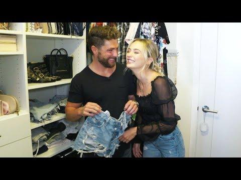 Tour Chris Lane And Lauren Bushnell's Closet