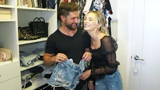 Tour Chris Lane and Lauren Bushnell's Closet