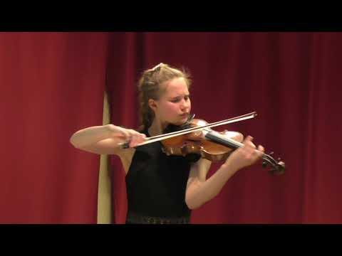 Pesaro Fiestalonia Milenio Yudina Alina. Rachmaninov vocalise violin