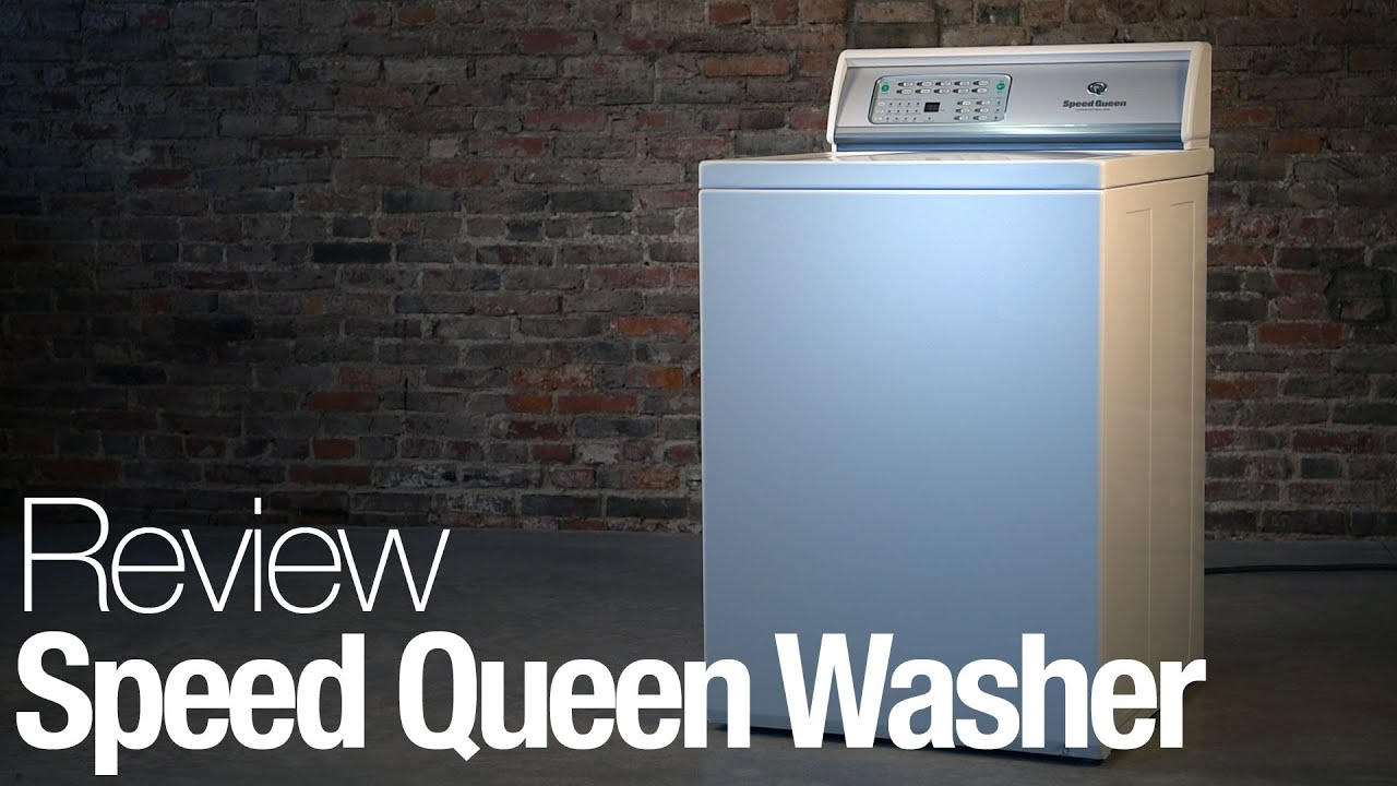Speed Queen Washing Machine Review Youtube