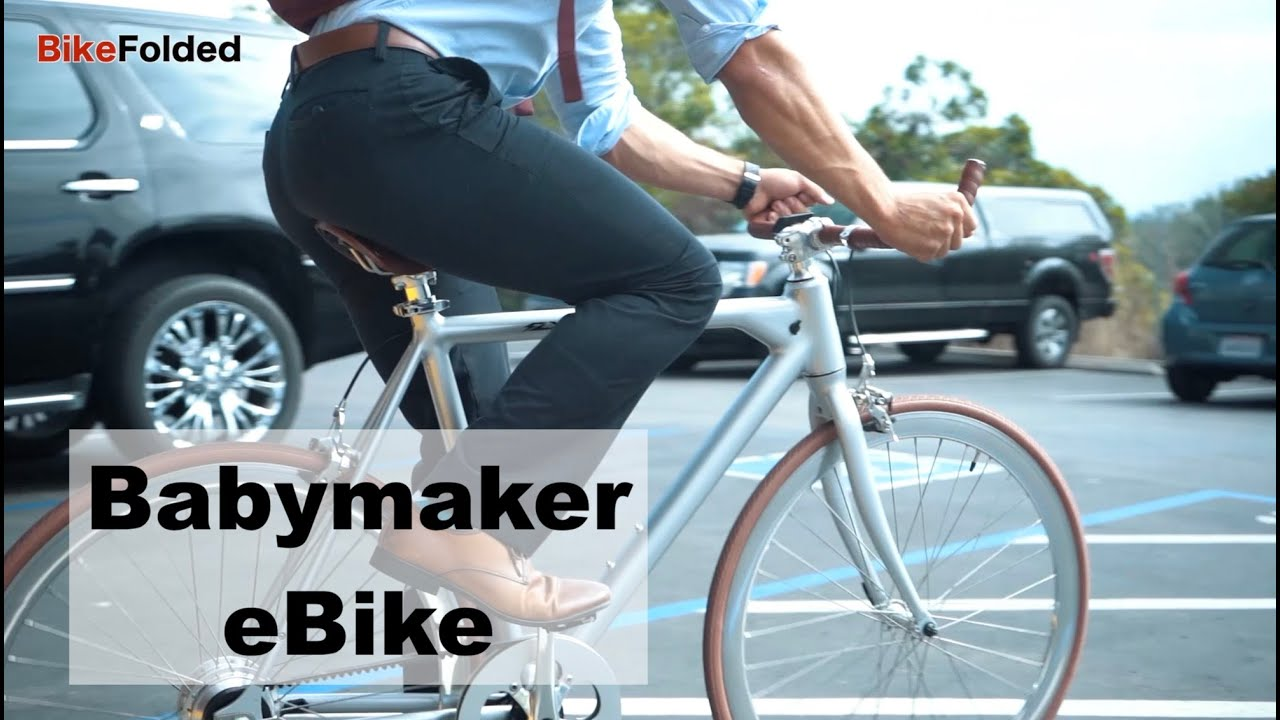 Flx Babymaker Electric Road Bike Youtube