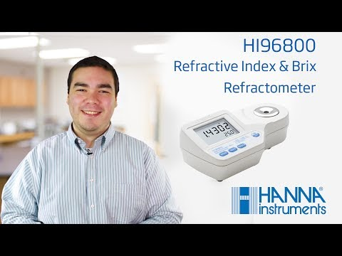 Learn About the Hanna Instruments Refractive Index Refractometer HI96800