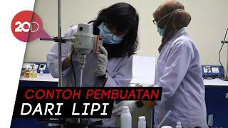 Hand sanitizer belakangan ini sulit didapatkan di pasaran karena adanya wabah virus corona. lembaga ilmu pengetahuan indonesia (lipi), memperlihatkan cara me...