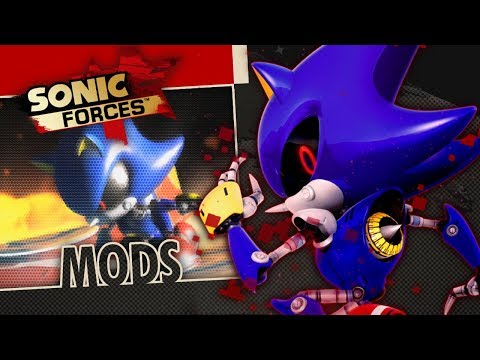 Sonic Forces PC - I AM THE REAL SONIC | Metal Sonic Mod