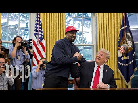 Kanye West on Donald Trump: 'I love this guy'