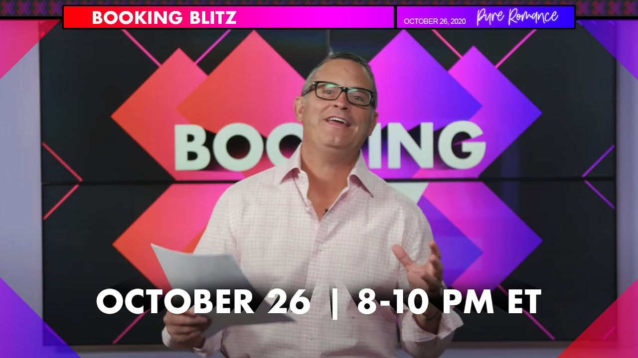 BOOKING BLITZ | Day Two | Monday, October 26th