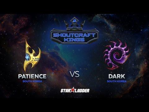 SHOUTcraft Kings March 2017: Patience (P) vs Dark (Z)