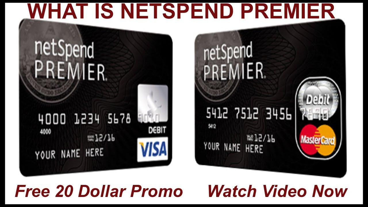 what is netspend premier plus netspend referral program youtube - Netspend Prepaid Visa Debit Card