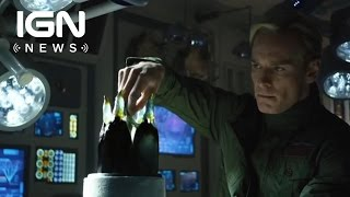 Alien: Covenant Star Michael Fassbender Reveals Big Twist - IGN News