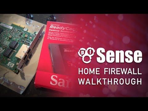 A tour of my new pfSense home firewall setup - YouTube