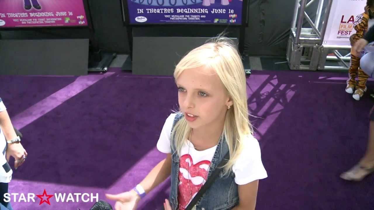 Jessica Belkin Red Carpet Interview At Quot My Little Pony