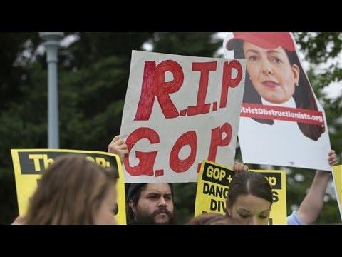 Donald Trump's Rise Sparks Down-Ballot Concern