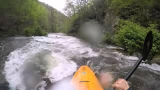Kayaking Upper Nantahala 4.25.2015