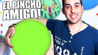 EL PINCHO AMIGO!! | Agar.io | Rubinho vlc