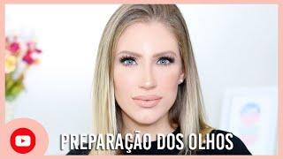 PREPARAÇÃO DOS OLHOS   OPACO PARA FESTAS
