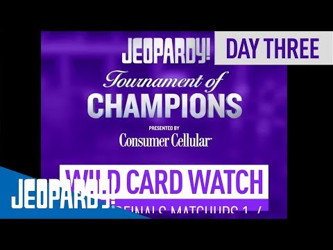 Wild Card Watch Day 3 | Jeopardy!