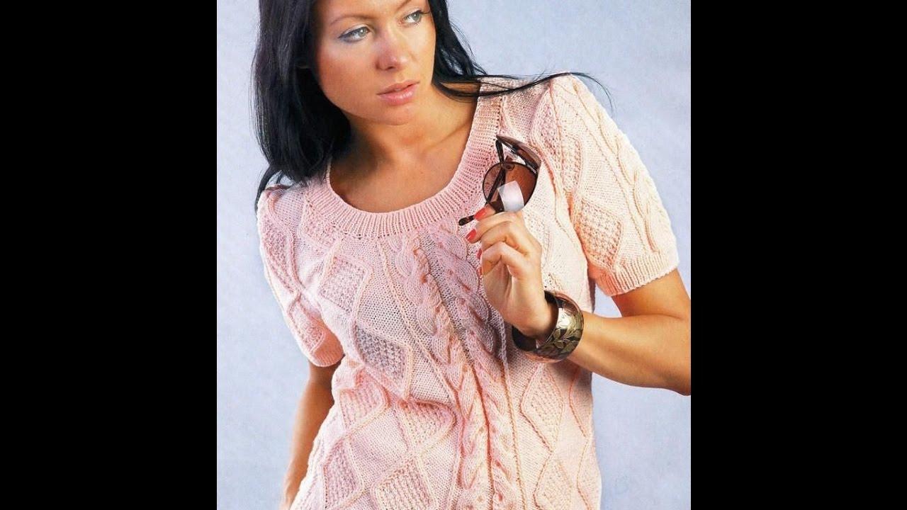 вязание спицами летняя кофта для женщин 2019 Knitting With