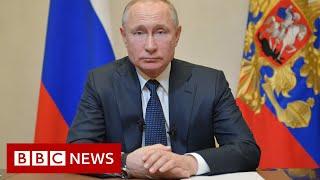 Coronavirus delays Russian vote on Putin staying in power - BBC News
