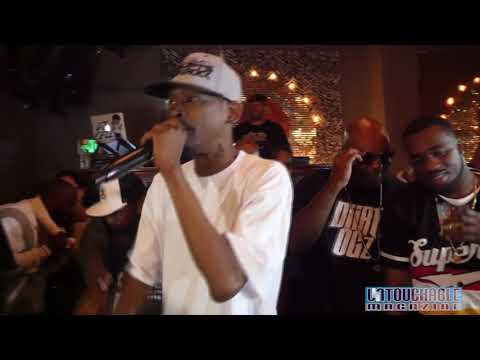 "Kurupt Live Performance at ""The Reserve"" in Downtown Los Angeles."