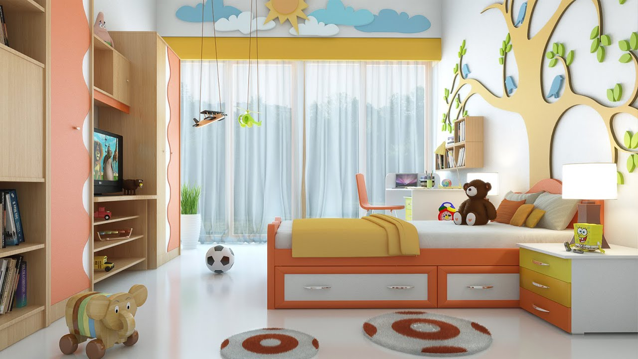 Kids bedroom ideas 2016 kids bedrooms youtube for Cool kids rooms decorating ideas