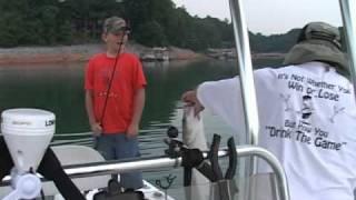 Kids Fishing Lake Lanier.