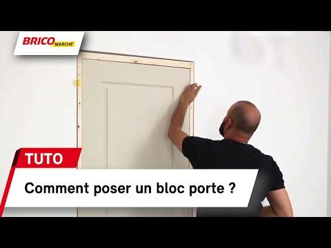 Poser Un Bloc Porte Oorekafr Youtube