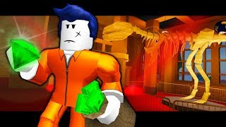 LE DERNIER GUEST ROBS THE MUSEUM! ( A Roblox Jailbreak Update Roleplay Story)