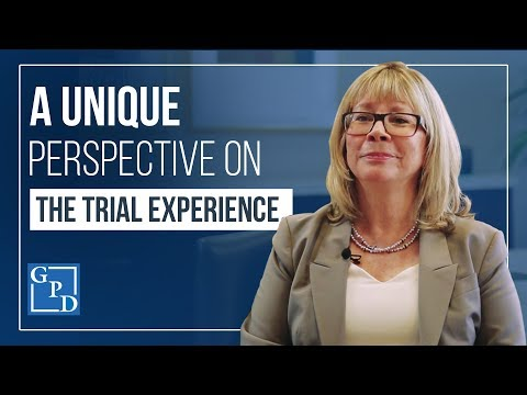 A Unique Perspective on the Trial Experience