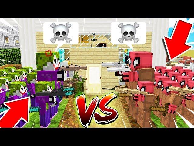 FAKİR KLON ORDUSU VS JOKER KLON ORDUSU ! 😱 - Minecraft