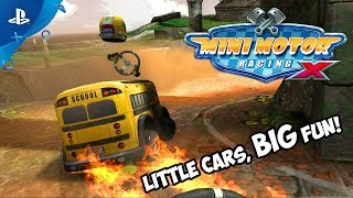 Mini Motor Racing X - Launch Trailer | PS4, PS VR