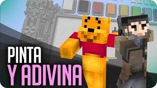 Pinta y Adivina!! JIASJIAJIS! | Minecraft