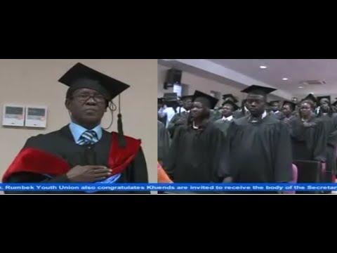 Graduation Ceremony By Vice President James Wani Igga