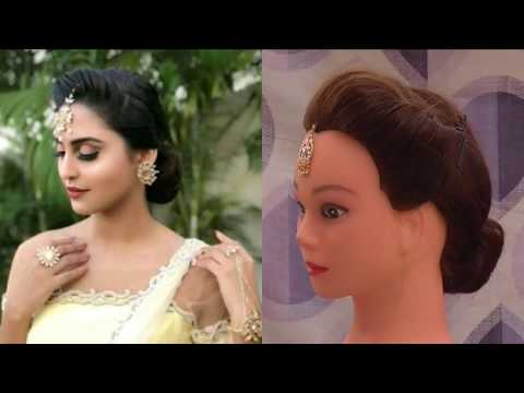 EASY WEDDING AND FESTIVAL HAIRSTYLE  INSPIRED BY KRYSTLE  D'SOUZA \ HAIRSTYLE FOR MEDIUM - LONG HAIR thumbnail
