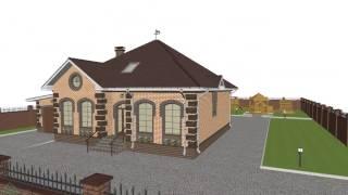 Типовой проект одноэтажного дома с мансардой  и  гаражом на 4 спальни D-113-ТП(, 2016-10-25T08:16:35.000Z)