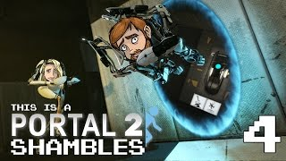 Podshambles Play Portal 2 - Ep 4: Hop on my Joystick