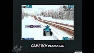 ATV Quad Power Racing Game Boy Gameplay