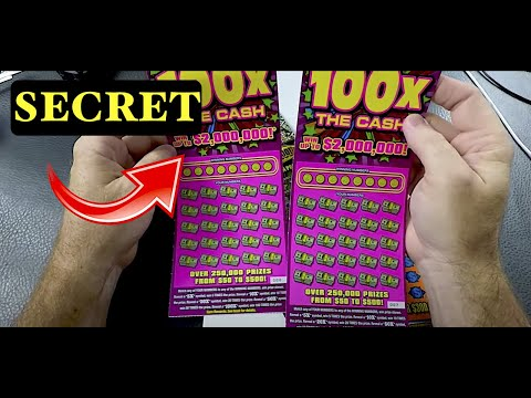 When You See THIS On A Lotto Scratch Off  BUY THEM ALL  !!!