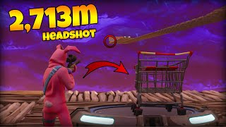 (2,713M) WORLD RECORD SNIPER HEADSHOT! | Fortnite BR