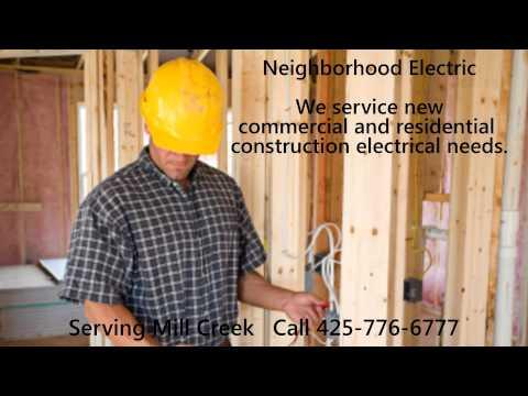 Electrical Contractors Mill Creek WA | Call 425-776-6777 | 98012 | 98082