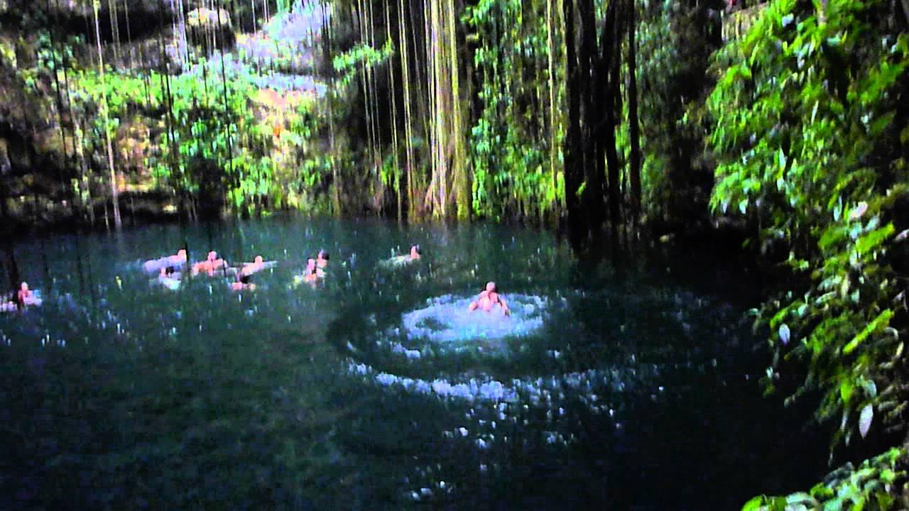 Cenote Ikil Chichen Itza Mexico BUENA ONDA YouTube