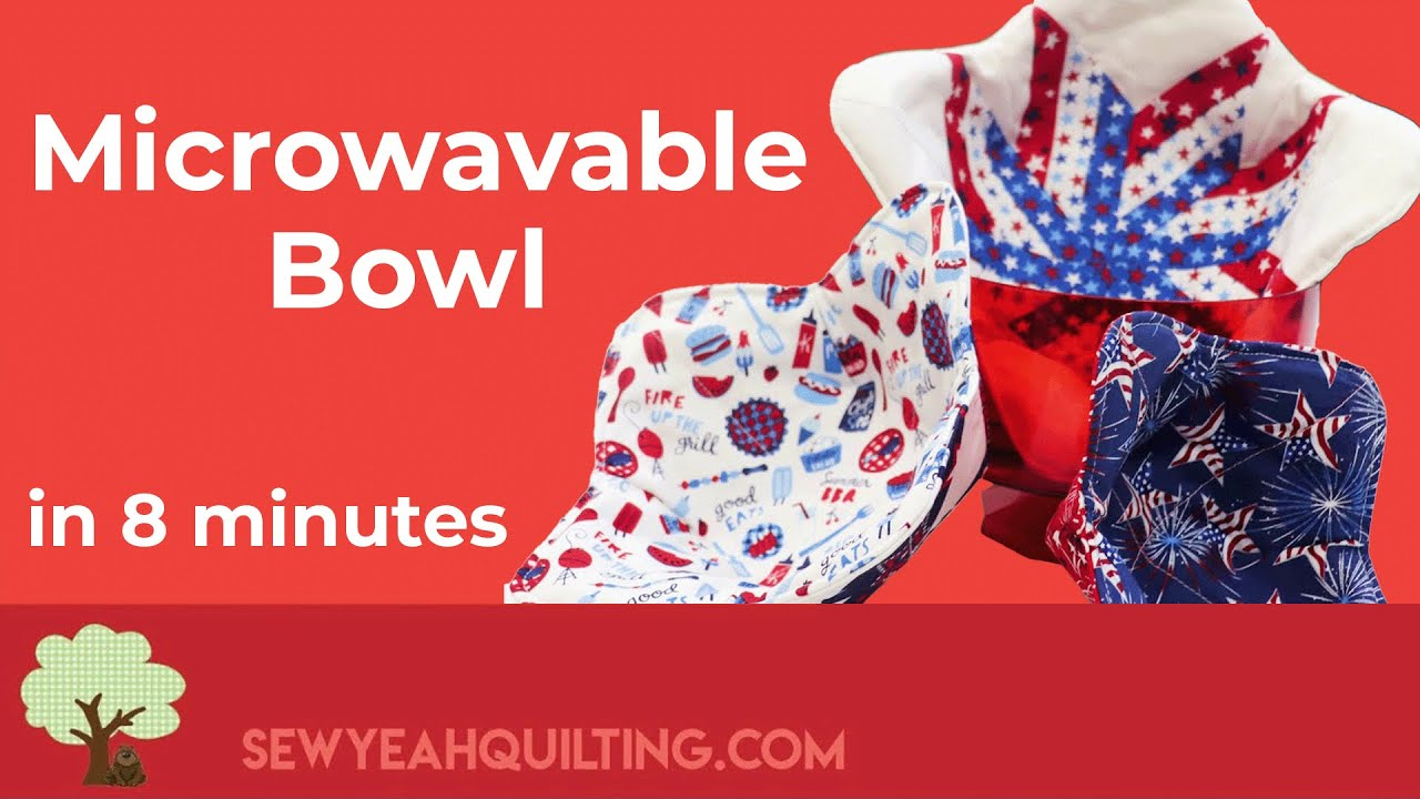 How To Make Microwaveable Bowl Covers