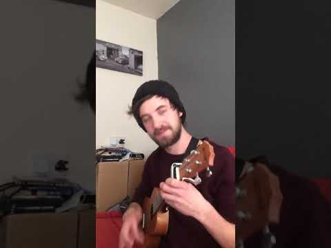Dream lover ukulele cover, with special percussion!
