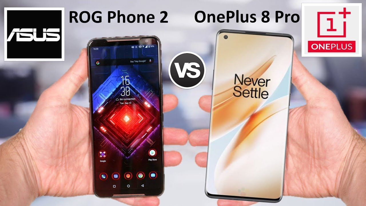 Asus ROG Phone 2 vs OnePlus 8 Pro Comparison