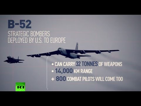 B-52 Bombers Deployed By US To Europe For NATO Drills Near Russian Borders