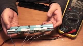 Как восстановить аккумулятор ноутбука, пример ремонта - Часть 2(, 2014-04-08T09:10:30.000Z)