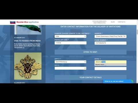 How to get Russian tourist visa? - Russia-invitation.com