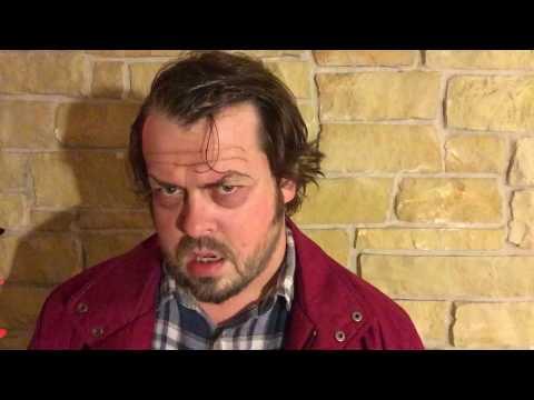Tommy Snider as JACK NICHOLSON Halloween impression